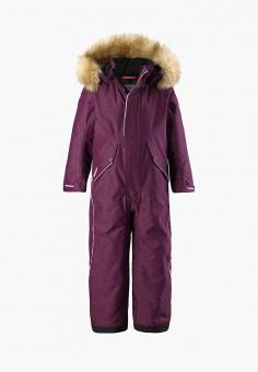 Комбинезон утепленный, Reima, цвет: фиолетовый. Артикул: RE883EGFYGE5. Девочкам / Одежда / Верхняя одежда