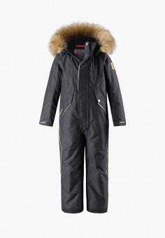 Комбинезон утепленный, Reima, цвет: серый. Артикул: RE883EGFYGE7. Девочкам / Одежда / Верхняя одежда