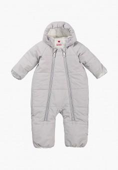 Комбинезон утепленный, Reima, цвет: серый. Артикул: RE883EKFYGQ0. Мальчикам / Одежда / Верхняя одежда