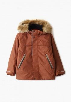 Куртка утепленная, Reima, цвет: коричневый. Артикул: RE883EKFYGV8.