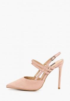 Туфли, River Island, цвет: розовый. Артикул: RI004AWEQEQ2.