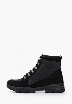 Ботинки, River Island, цвет: черный. Артикул: RI004AWHEUY3.