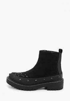 Ботинки, River Island, цвет: черный. Артикул: RI004AWIGAG2.