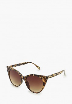 Очки солнцезащитные, River Island, цвет: коричневый. Артикул: RI004DWIJEZ8.