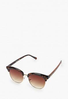 Очки солнцезащитные, River Island, цвет: коричневый. Артикул: RI004DWIPBE3.