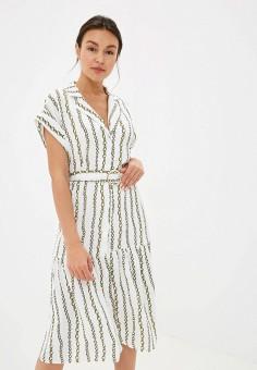 Платье, River Island, цвет: белый. Артикул: RI004EWFUGF8.