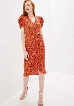 Платье, River Island, цвет: красный. Артикул: RI004EWGDAB1.