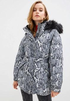 Куртка утепленная, River Island, цвет: серый. Артикул: RI004EWGSNT9.