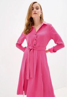 Платье, River Island, цвет: розовый. Артикул: RI004EWGSNU7.