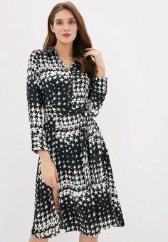 Платье, River Island, цвет: черный. Артикул: RI004EWGWAD9.