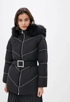 Куртка утепленная, River Island, цвет: черный. Артикул: RI004EWHMTW7.