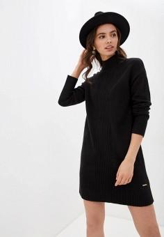 Платье, River Island, цвет: черный. Артикул: RI004EWHVUI4.