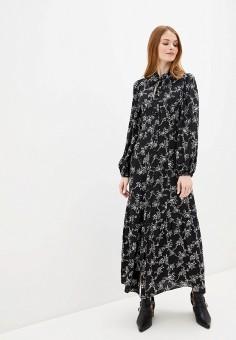 Платье, River Island, цвет: черный. Артикул: RI004EWIGOX8.