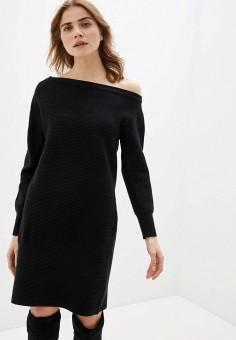 Платье, River Island, цвет: черный. Артикул: RI004EWIMFU3.