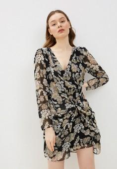 Платье, River Island, цвет: черный. Артикул: RI004EWIMFU5.