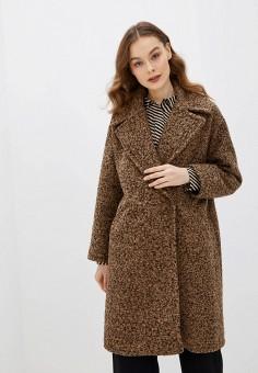 Шуба, Rinascimento, цвет: коричневый. Артикул: RI005EWHTKW5. Одежда / Верхняя одежда / Шубы и дубленки