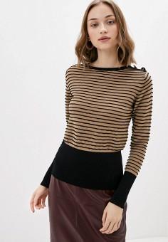 Джемпер, Rinascimento, цвет: бежевый. Артикул: RI005EWIGQH1. Одежда / Джемперы, свитеры и кардиганы / Джемперы и пуловеры