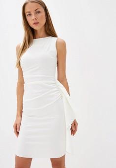 Платье, Rinascimento, цвет: белый. Артикул: RI005EWIGQQ8. Одежда