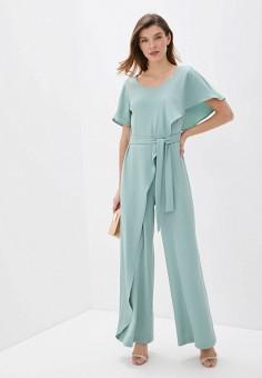Комбинезон, Rinascimento, цвет: бирюзовый. Артикул: RI005EWIGRC1. Одежда / Комбинезоны