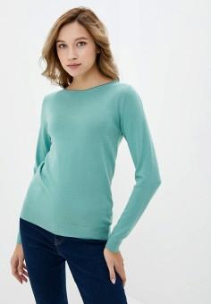 Джемпер, Rinascimento, цвет: бирюзовый. Артикул: RI005EWIGRE3. Одежда / Джемперы, свитеры и кардиганы / Джемперы и пуловеры / Джемперы