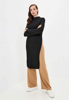 Туника, Rinascimento, цвет: черный. Артикул: RI005EWJWCZ5. Одежда / Туники
