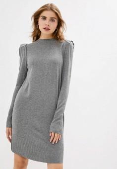 Платье, Rinascimento, цвет: серый. Артикул: RI005EWJWDC4. Одежда / Платья и сарафаны