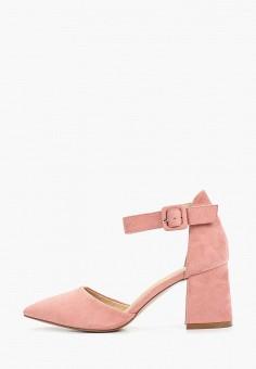 Туфли, Rio Fiore, цвет: розовый. Артикул: RI033AWEVUD4. Обувь / Туфли