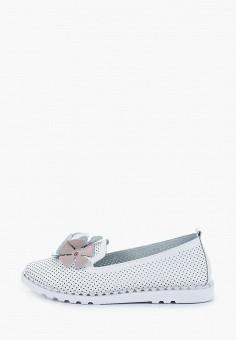 Лоферы, Rio Fiore, цвет: белый. Артикул: RI033AWJBID5. Обувь / Туфли / Лоферы