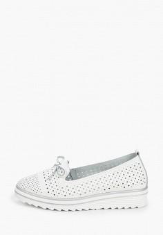 Лоферы, Rio Fiore, цвет: белый. Артикул: RI033AWJBID8. Обувь / Туфли / Лоферы