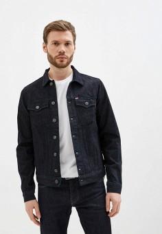 Куртка джинсовая, Rifle, цвет: синий. Артикул: RI369EMIOMT6. Одежда / Верхняя одежда / Джинсовые куртки