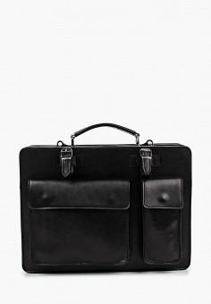 Портфель, Roberta Rossi, цвет: черный. Артикул: RO041BMGX296. Аксессуары / Сумки