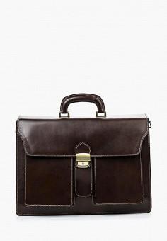 Портфель, Roberta Rossi, цвет: коричневый. Артикул: RO041BMSUS61. Аксессуары / Сумки
