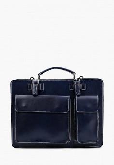 Портфель, Roberta Rossi, цвет: синий. Артикул: RO041BMWQY50. Аксессуары / Сумки