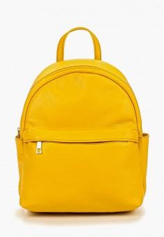 Рюкзак, Roberta Rossi, цвет: желтый. Артикул: RO041BWERLY0. Аксессуары / Рюкзаки / Рюкзаки