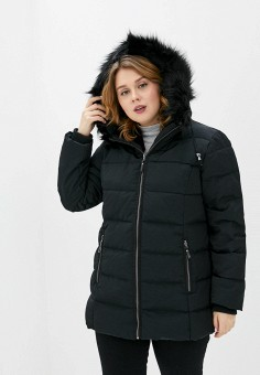 Куртка утепленная, Rosa Thea, цвет: черный. Артикул: RO043EWGJSW9. Одежда / Верхняя одежда / Демисезонные куртки