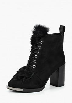 Ботильоны, Rossa, цвет: черный. Артикул: RO045AWCOQC3. Обувь / Ботильоны