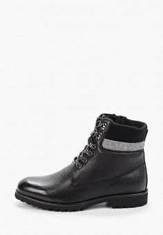Ботинки, Roscote, цвет: черный. Артикул: RO051AMGUSO7. Обувь / Ботинки / Высокие ботинки