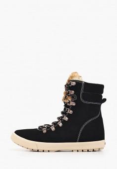 Ботинки, Roxy, цвет: черный. Артикул: RO165AWEXLK5.