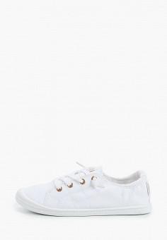 Кеды, Roxy, цвет: белый. Артикул: RO165AWIJIX3.