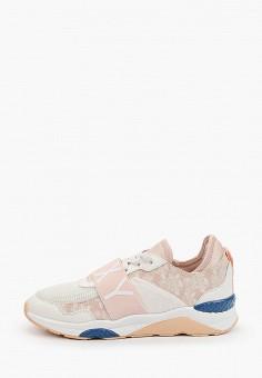 Кроссовки, Roxy, цвет: розовый. Артикул: RO165AWIJIX7.