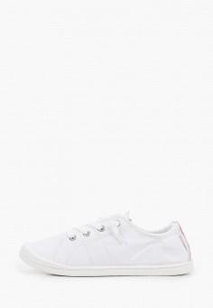 Кеды, Roxy, цвет: белый. Артикул: RO165AWJDLQ9.