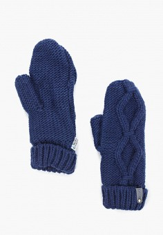 Варежки, Roxy, цвет: синий. Артикул: RO165DWEXJO9. Аксессуары / Перчатки и варежки