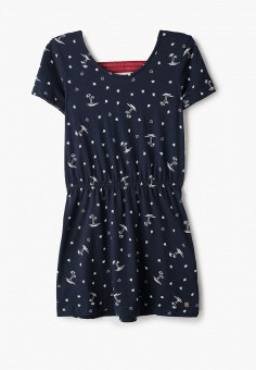Платье, Roxy, цвет: синий. Артикул: RO165EGIJII5.