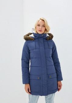 Куртка утепленная, Roxy, цвет: синий. Артикул: RO165EWCFID8.