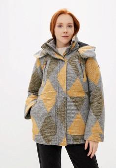 Куртка утепленная, Roxy, цвет: серый. Артикул: RO165EWEXKQ4.