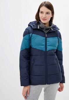 Куртка утепленная, Roxy, цвет: синий. Артикул: RO165EWEXKQ9.