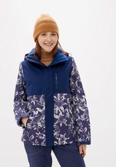 Куртка горнолыжная, Roxy, цвет: синий. Артикул: RO165EWEXLH1.