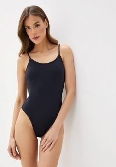Купальник, Roxy, цвет: черный. Артикул: RO165EWIJDR0. Одежда / Купальники и пляжная одежда