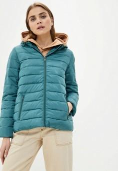 Куртка утепленная, Roxy, цвет: бирюзовый. Артикул: RO165EWIJDT7. Одежда / Верхняя одежда / Демисезонные куртки