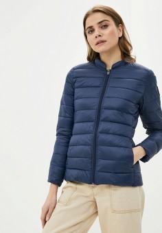 Куртка утепленная, Roxy, цвет: синий. Артикул: RO165EWIJDT8.